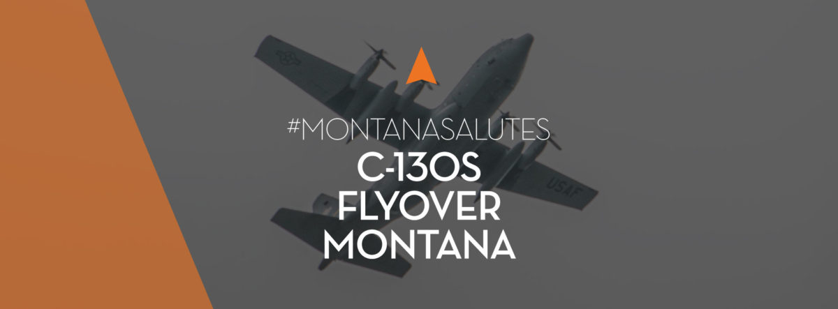 Montana National Guard Flyover Featured Image